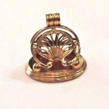 VICTORIAN WATCH FOB EXTRA LARGE 14K CORNELIAN POCKET WATCH FOB CLASSIC AWESOME