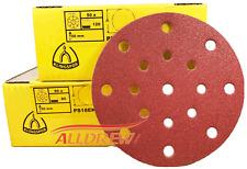 150mm Sanding Discs / Pads KLINGSPOR 6'' HookNLoop 17 Hole / FESTOOL ROTEX / ETS