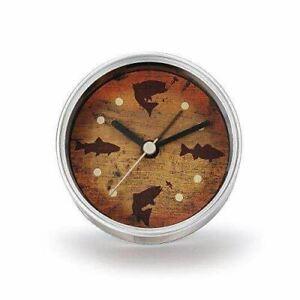 DEMDACO Big Sky Carvers Fish Clock-n-Can