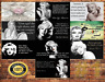 Job Lot 10 x METAL TIN SIGN WALL PLAQUE MARYLIN MONROE QUOTES COLLECTION #1