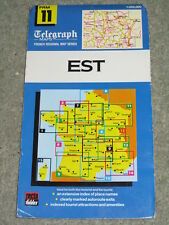 Daily Telegraph  French Regional Map: East by Roger Lascelles (Sheet map, 1987)
