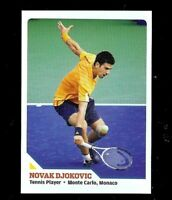 "NOVAK DJOKOVIC 2010 ""1ST EVER PRINTED"" SPORTS ILLUSTRATED TENNIS ROOKIE CARD!"