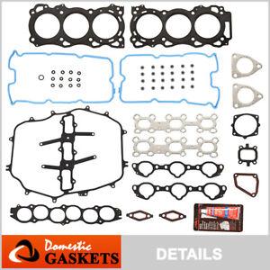 Fits 05-08 Infiniti FX35 G35 M35 3.5L DOHC Head Gasket Set VQ35DE