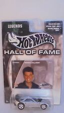Mattel Hot Wheels Hall of Fame Legends Reeves Callaway C7 1:64 Scale diecast MIB