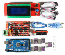 RAMPS 1.4 Set para Impresora RepRap 3D, Mega 2560, 5x DRV8825, 2004 LCD Arduino