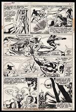 Jungle Action #9 Art by Gil Kane Black Panther Battles Baron Macabre