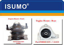 2 Pcs Engine Mount Front & Rear Fits: Honda Ridgeline 2010-2014  V6 3.5L