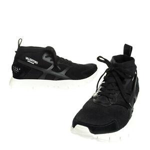 RRP €655 VALENTINO GARAVANI Sneakers Mismatch Size L41 R42 Contrast Leather