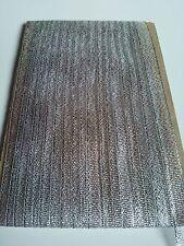 5M 10mm Silver  Glitter Lurex Sparkle Organza Metallic Ribbon Wedding Christmas