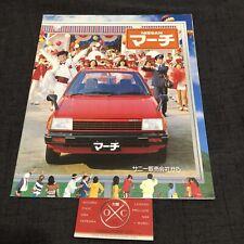 Vintage Nissan March Brochure JDM Rare Catalog K10 Micra 82-92 83 84 85 86 87 88