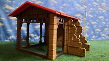 Playmobil Fachwerk Gebäude Custom Einzelstück Erweiterung Bauernhof Reiterhof