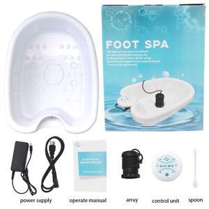 Personal Ionic Detox Foot Basin Bath Spa Cleanse Machine Array Health Care NEW