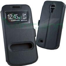 Custodia ALL VIEW cover p Samsung Galaxy S4 Mini i9190 i9195 case finestre stand