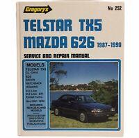 Telstar TX5 Mazda 626 (1987-90) by Gregorys Service & Repair Manual No 252