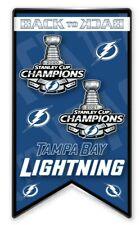 "2021 NHL Tampa Bay Lightning Ventilateur Broche "" Arrière À "" Champions STANLEY"