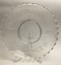 More details for antique coronation of king george may 13 1937 glass plate