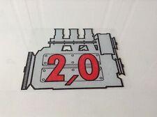 PORSCHE 911 2.0 REAR SCREEN STICKER
