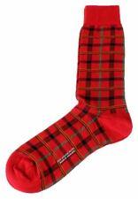 Pantherella Mens Chalsey Socks - Royal Red