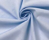"""Light Blue Cotton Fabric 45"""" Width Sold By The Yard"""