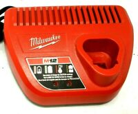 Milwaukee 48-59-2401 M12 30 Minute Ion Charger, LN
