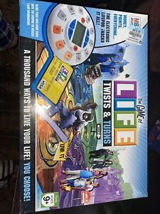 The Game of Life Twists and Turns Board 2007 Milton Bradley Electronic Complete