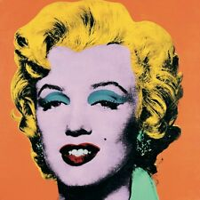 Marilyn Orange (large) by Andy Warhol Art Print 1989 Poster 38x38