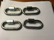 4 Stainless Steel Chain Quick Link Marine Grade Carabiner Swl-1760 lbs