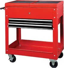 HILKA TOOL TROLLEY CART NEW 2 DRAWER GARAGE PARTS STORAGE CHEST ROLL CABINET