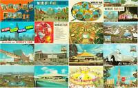 New York World's Fair 1964-1965 Lot of 100 Different Postcards