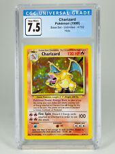 Charizard CGC 7.5 Base Set Holo 1999 Unlimited Pokemon 4/102  Near Mint+