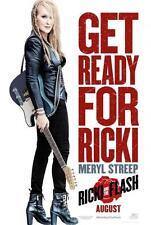 "RICKI AND THE FLASH 11""x17"" Original Promo Movie Poster Mint 2015 Meryl Streep"