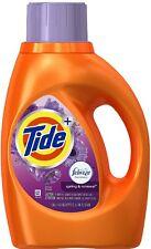 Tide + Febreze Liquid Laundry Detergent, Spring - Renewal 46 oz