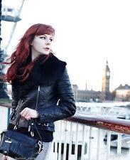 Karen Millen Leather Patternless Coats & Jackets for Women