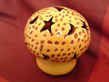 Moroccan Berber Ethnic African Tealight Candle Holder Stars & Moons