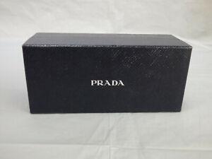 "PRADA Authentic Black Sunglasses Glasses Empty Box for Gift or Storage  7"" x 3"""