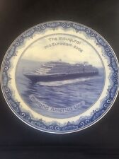 Royal Goedwaagen Blue Delft Holland America Shipping Line Inaugural EURODAM 2008