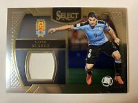 Luis Suarez 2016-17 Select Jersey Relic Patch Uruguay World Cup Soccer