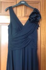 MARKS AND SPENCER AUTOGRAPH BLACK EVENING DRESS SIZE 10 BRAND NEW