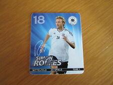 SIMON ROLFES - REWE - DFB - EM 2012 - Sammelkarte Nr. 18