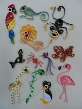 Quilling Kit - At The Zoo, 2mm, by Past Times Quilling