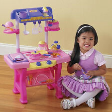 """Deluxe CHILD'S 35 PC KITCHEN PLAY SET NEW IN BOX 27"""" HIGH Huge SALE!!!!"""