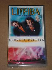 LITFIBA - CROCE E DELIZIA - RARA VIDEOCASSETTA VHS SIGILLATA (SEALED)