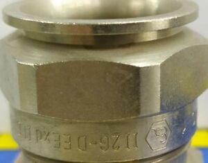 (AMPMECH) EATON CROUSE-HINDS /CAPRI EXD & EXE GLAND ADE1F2 M20 NPB UNARMOURED