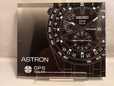 SEIKO ASTRON acrylic display
