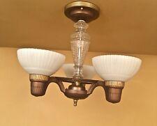 Vintage Lighting restored 1930s by Markel