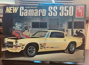 """model car """"art box"""" top only (kit not included) AMT 73 Camaro, tape on side"""