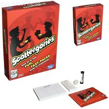 New Scattergories Game Letter Category 20 Pieces Vintage Look - NEW