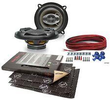 Renault Master 2 03-10 Upgrade Speaker 5 1/8in Front + Stp Alubutyl Insulation