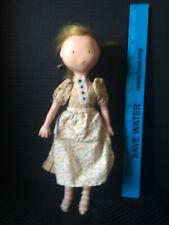 "Vintage Holly Hobby Friend ""Carrie"" Doll Vinyl 1974"