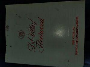 1988 Cadillac Deville Fleetwood Service Manual